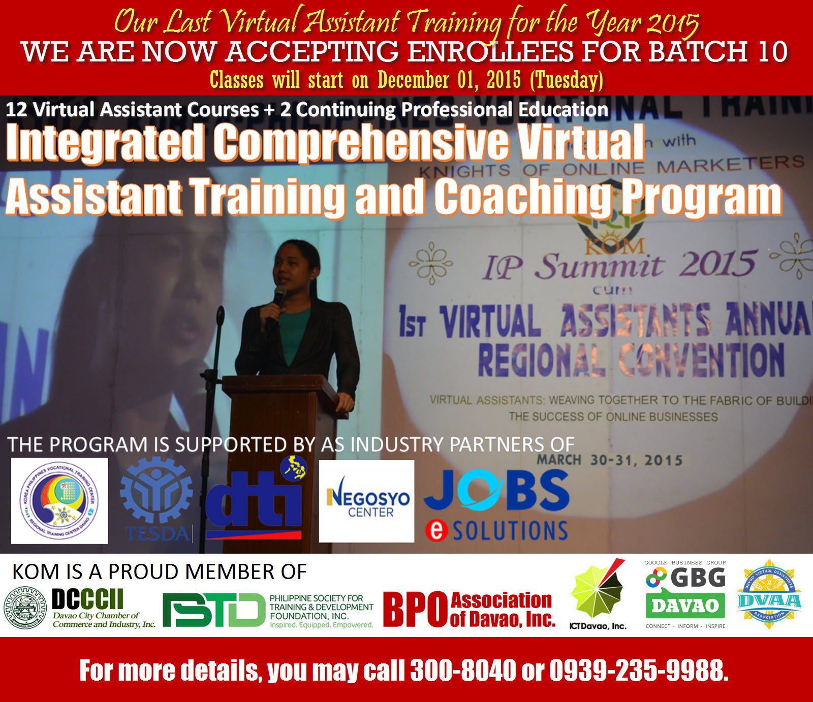 Batch 10 Virtual Assistant Training