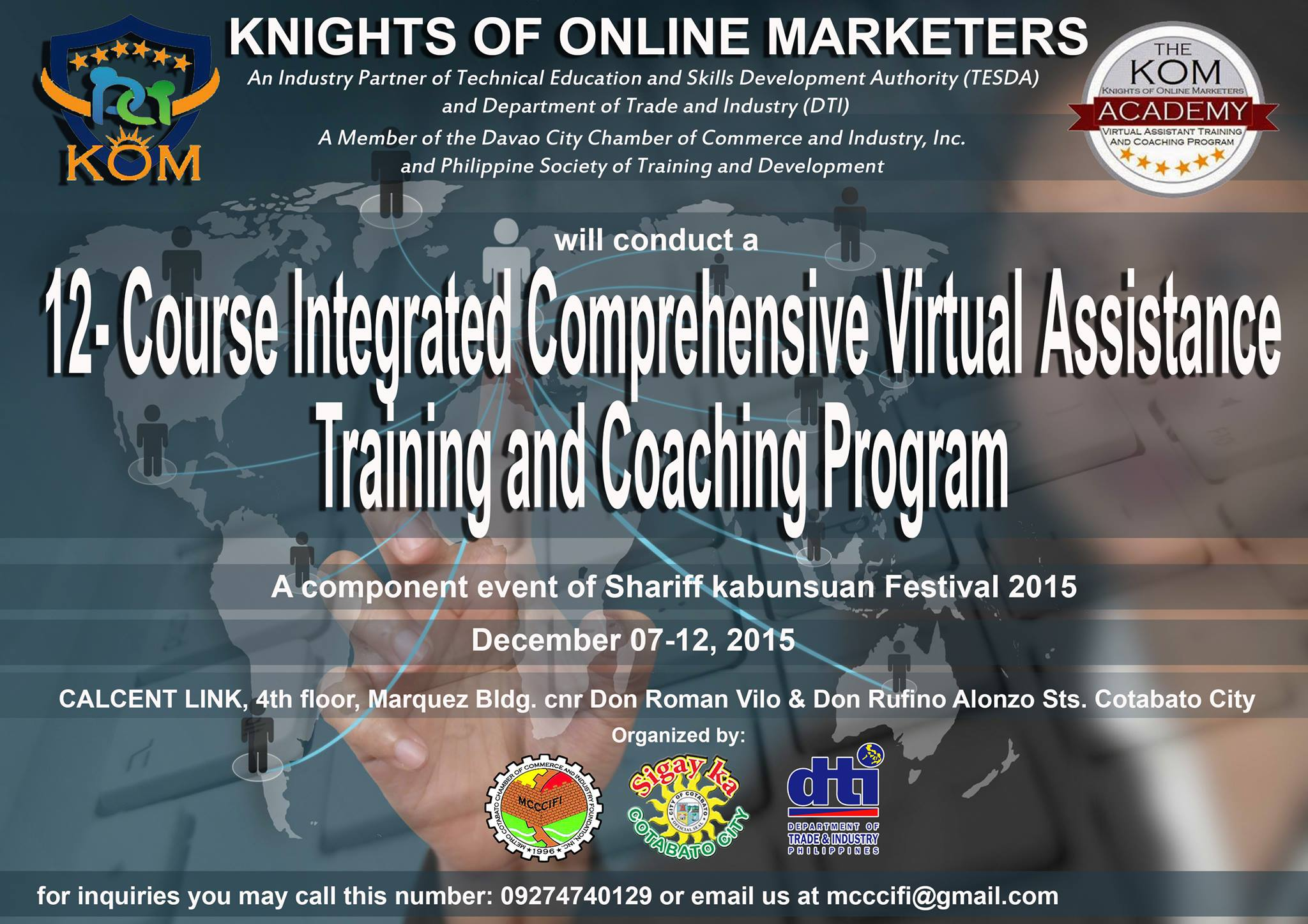Virtual Assistant Training Cotabato City