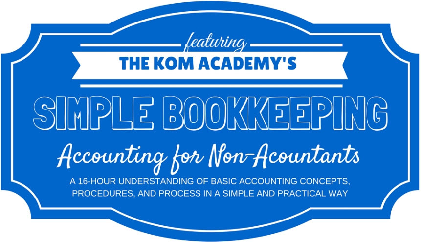 Simple Bookkeeping Training