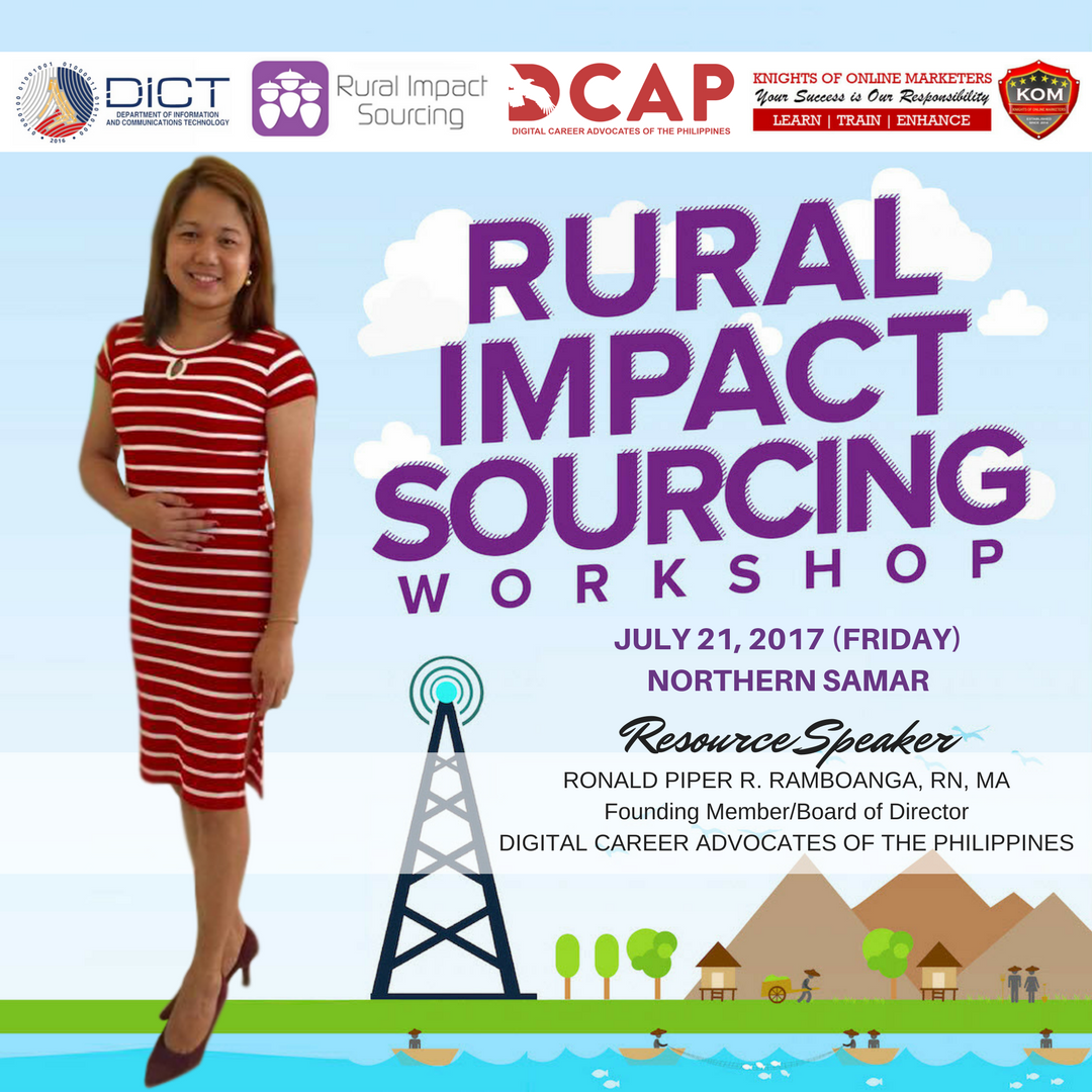Rural Impact Sourcing Workshop in Northern Samar