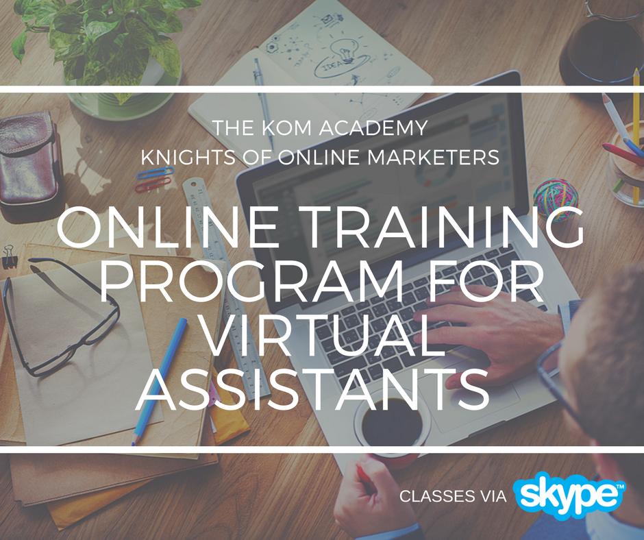 Online Training Program for Virtual Assistants