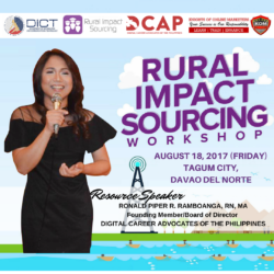 Rural Impact Sourcing Tagum City