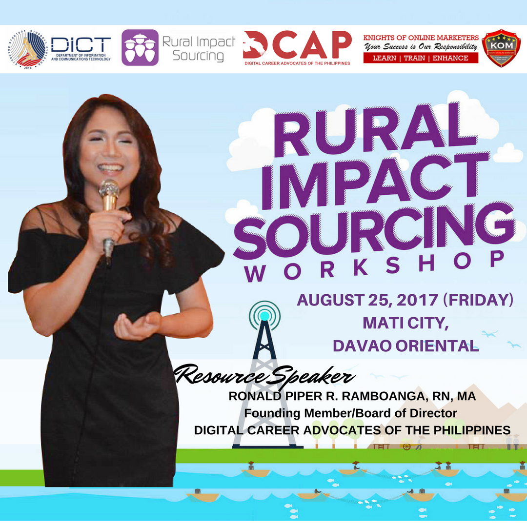 Rural Impact Sourcing Workshop Mati City