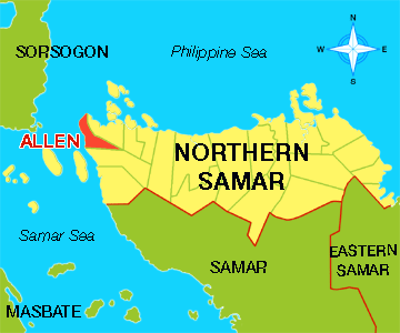 Allen, Northern Samar