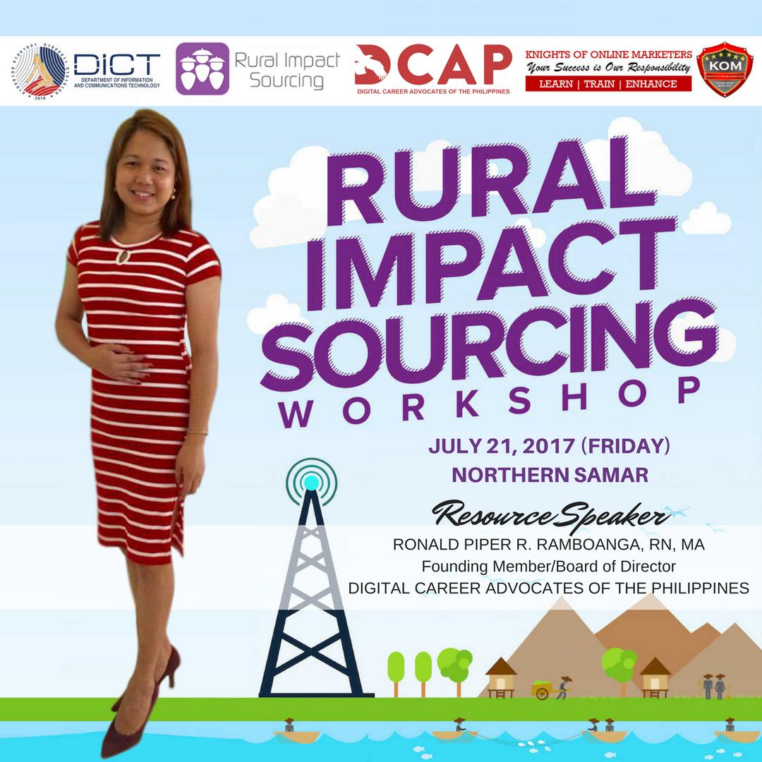 Rural Impact Sourcing Workshop in Northern Samar