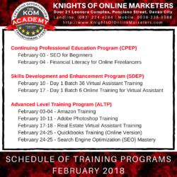 Virtual Assistant Training Philippines